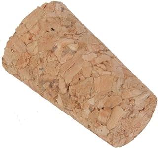 10pcs conique en bois Bouchons en liège Bouchon TOPS pour bouteille Bocal Craft 20mm x 15mm x 35mm