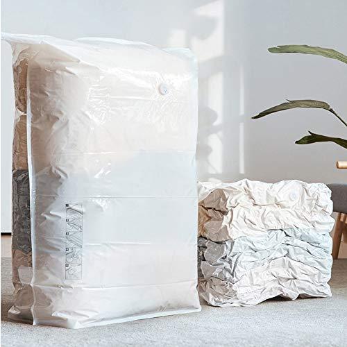 2 stuks Verzegelbaar Matras Stofzuiger Space Saver Tassen Extra Large Compressed kast organisatoren Opslag zakken for dekbedden, kussens, beddengoed, dekens, kleren, geen pompen nodig