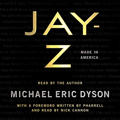 Jay-Z audiobook cover art