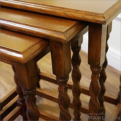 アンティーク(リプロダクト)【ネストテーブル】アンティーク家具を再現したリプロダクト家具