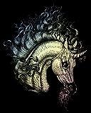 ROYAL BRUSH Holographic Foil Engraving Art Kit, 8 by 10-Inch, Arabian Unicorn