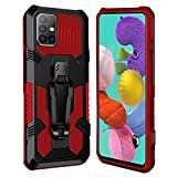 XINYUNEW Cover for Samsung Galaxy M31S Case Heavy Duty Dual