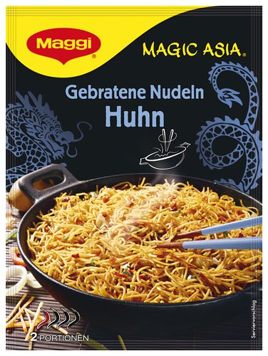 6x Maggi - Magic Asia Gebratene Nudeln Huhn