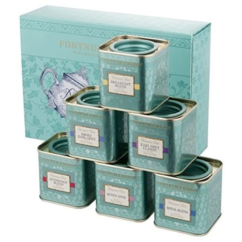 FORTNUM & MASON フォートナム&メイソン 6種類の香りと風味 フォートナム&メイソン フェイマスティー 6缶 セット 各25g缶入り×6缶 Fortnum & Mason