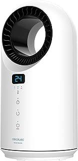 Cecotec Calefactor Ready Warm 8200 Bladeless. Potencia 1500 W, Mando a Distancia, Control táctil, 3 Modos, Oscilación 60º,...