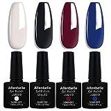 Allenbelle Smalto Semipermante Per Unghie Kit In Gel Uv Led Smalti Semipermanenti Per Unghie Nail Polish UV LED Gel Unghie (0031)