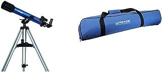 Meade Instruments 209003 Infinity 70Mm Az Refractor Telescope &  Instruments 609001 Infinity 50-60-70 mm Carry Bag Telescope, Blue