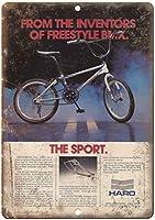 HARO BMX Sport Freestyle 金属板ブリキ看板警告サイン注意サイン表示パネル情報サイン金属安全サイン