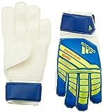 adidas Predatorator Junior Top Training Fingersaver Goalkeeper Glove Football Blue/Bold Blue/Solar Yellow, 5