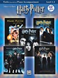 Williams: Harry Potter 15 Instrumental Solos (Violin/Piano & backing CD)