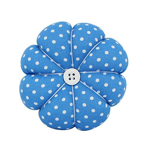 ROSENICE Pumpkin Pin Cushion Fully Padding Wrist Needle Cushion for Sewing Work