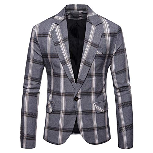 Mens Plaid Sport Coat