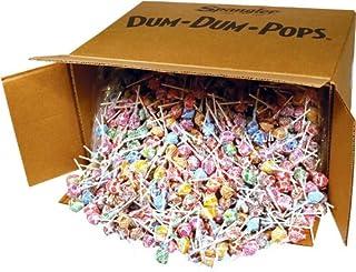 DUM DUMS Lollipops, Variety Flavor Mix, 1,800 Count Bulk Box