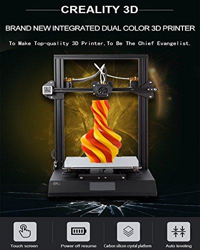 Kits d'imprimante Bicolore DIY CR X 3D 2018