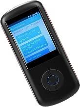 Almencla Smart Voice Language Translator Two Way 2.4'' LCD Support 4G WiFi - Black