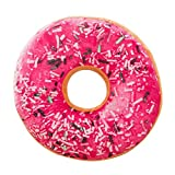 OldSch001 Sweet Donut Foods Soft Plush Pillow Stuffed Seat Pad Cushion Cover Case Toys (E)
