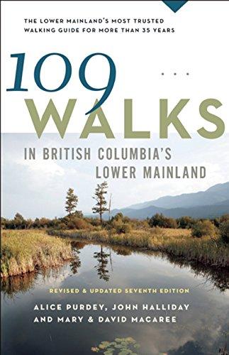 109 Walks in British Columbia's Lower Mainland (English Edition)