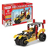 Mechanix Senior Series, 202 Pieces In The Game, Can Make 21 Different Models, Made In India Game, For 7+ Years of Kids. Parts are made from good quality of metal, plastic, and rubber. Improve your child Imagination, Creativity, Motors Skills, and Han...