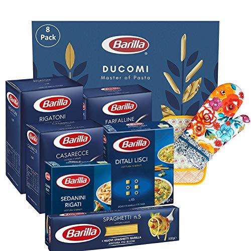 Barilla Pasta Variety Pack, Multipack con 6 tipi - Casarecce, Rigatoni, Farfalline, Spaghetti, Sedanini Rigati, Ditali Lisci, 6 confezioni da 500 g - 3 kg (Multipack 2)