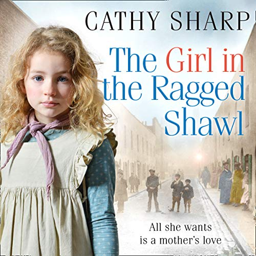 The Girl in the Ragged Shawl audiobook cover art