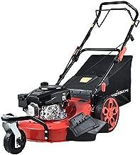 PowerSmart Lawn Mower, 20-inch & 170CC, Gas Powered Lawn Mower, 4-Stroke Engine Self-Propelled Lawn Mower, 3-in-1 Gas Mower, 8 Adjustable Heights (1.2''-3.15''), PSS2020