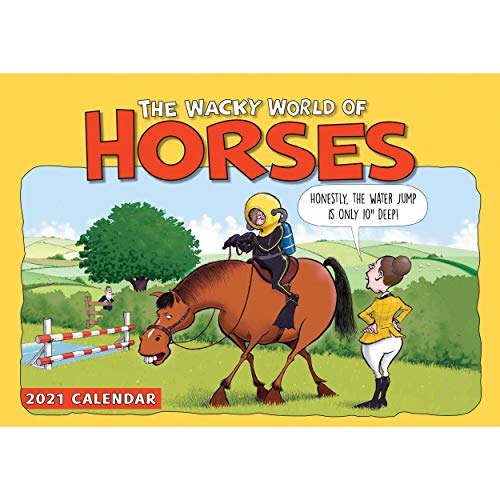 Wacky World of Horses A4 Calendar 2021