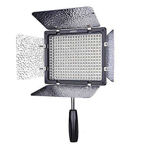Yongnuo YN-300 LED illuminazione oscuramento dei lampada SLR fotocamera videocamera DV per Canon Nikon con telecomando