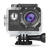 NexGadget Action Camera WIFI 12MP 2,0 Zoll, FHD 1080P Sport Action Kamera Cam IP68 Wasserdicht 140...