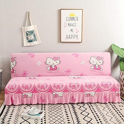 Huisdieren Sofa Cover Gewatteerde Slaapbank Beschermer, Bedrukte Slaapbank Deksel, all-inclusive opklapbare Slaapbank Deksel, Slipcovers Meubelbescherming