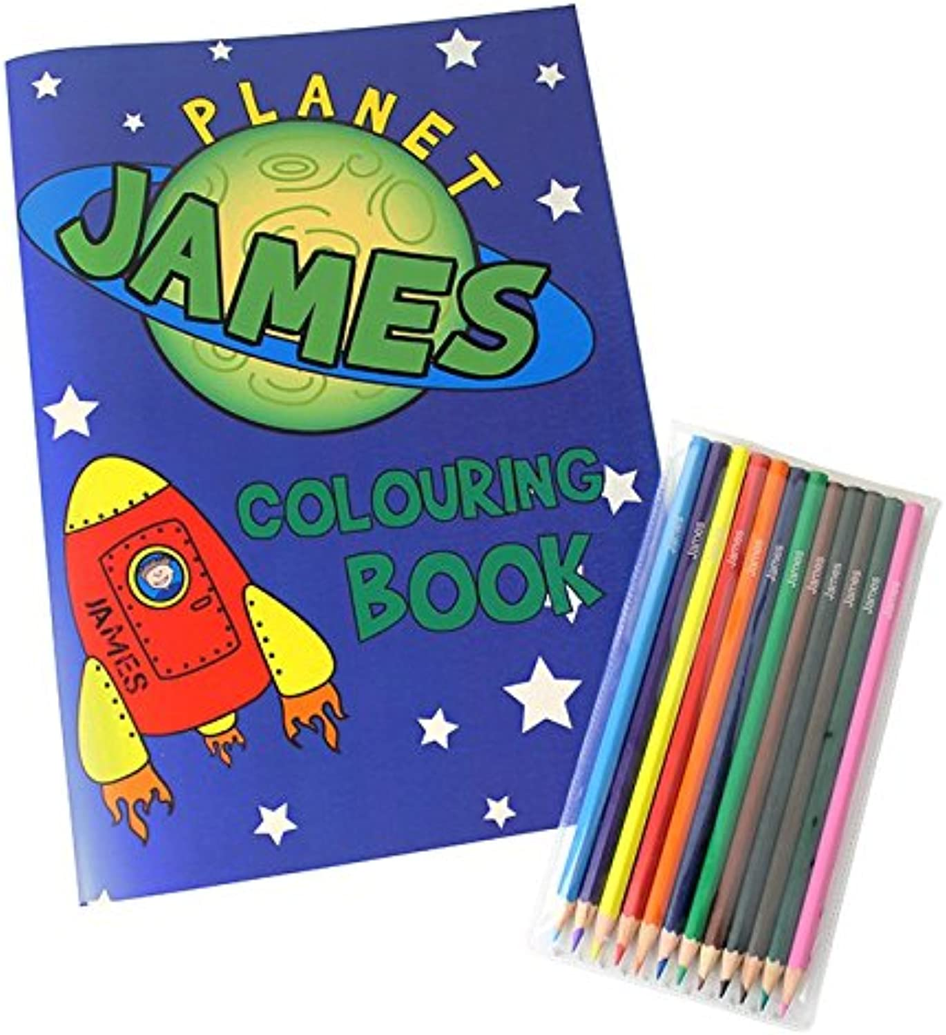 Personalised Space Colouring Set - Personalised - Colouring Pen Set Set Set - Books & Stationery B01DYHL7Q6   Jeder beschriebene Artikel ist verfügbar  2e7f21