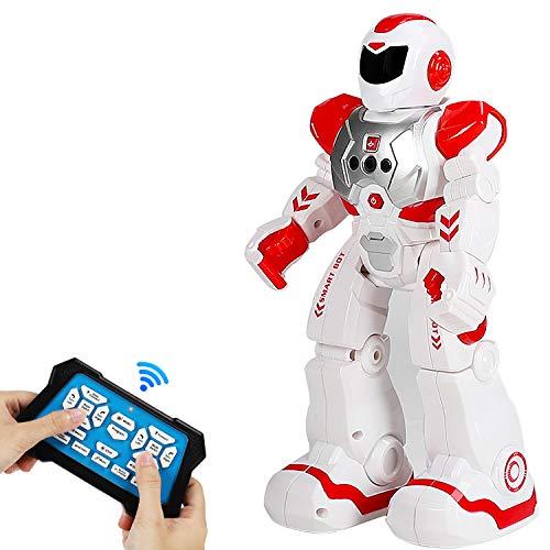 Aiboria Robot RC para niños, con mando a distancia programa