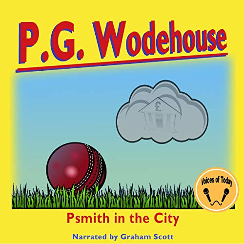 Psmith in the City audiobook cover art