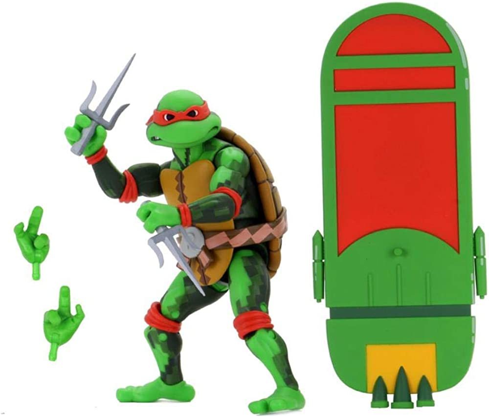 Neca tmnt turtles in time series 2 raphael - 18 cm 54117
