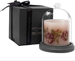 Bougie Bougies Parfumées À La Rose, Parfum Apaisant pour La Chambre À Coucher Et Aide Au Sommeil, Décoration De Bougie Par...