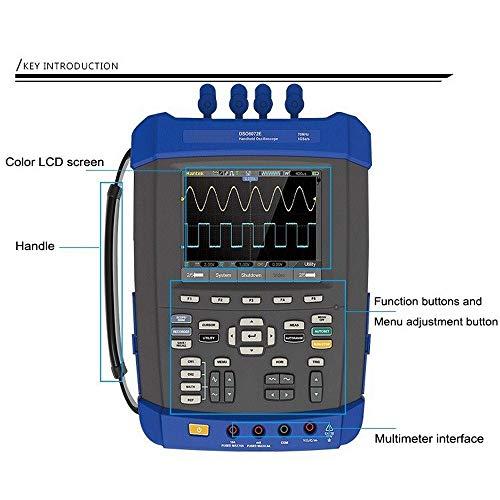 6 in 1 Handheld Oszilloskop 2 mt Speicher Tiefe, 6000 zählt DMM + DSO + AFG 1GS/s 70-200 mhz Rekorder/DMM/Spektrumanalysator/Frequenzzähler/Arbitrary Waveform Generator