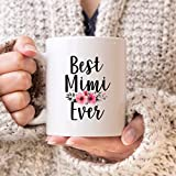 Mimi Mug Best Mimi Mug Best Mimi Ever Gift Best Mimi taza de café
