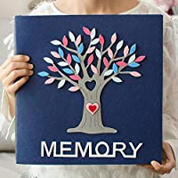 Plush Frame Cover Photo Album Hold Photos General Interleaf Type Family Photo Album With Memo Baby Memory Book, a