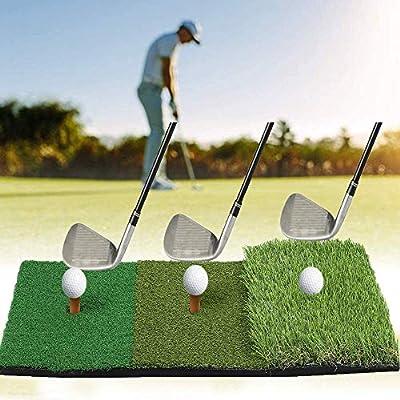 YOMERA Golf-Schlagmatte Golf-Putting-Matte Faltbare