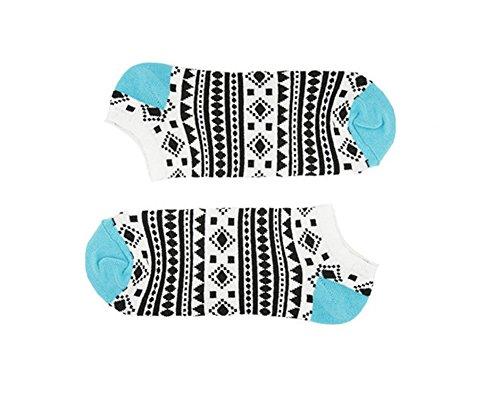 Sammy Icon Damen Chamanes Designer Kurze Socken - - Einheitsgröße