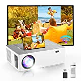Best Android Projectors - BOMAKER Projector, Native 1080P Projector, 6D Keystone Outdoor Review