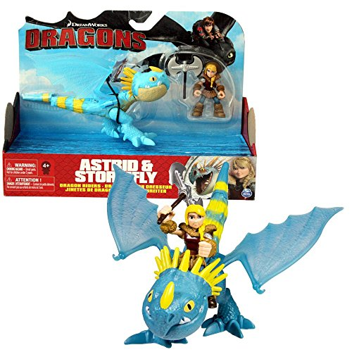 Trainer Astrid & Drachen Sturmpfeil | Action Spiel Set | DreamWorks Dragons