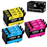 IKONG T1295 Cartouche d'encre Compatible pour Epson T1292 T1293 T1294 avec Epson...