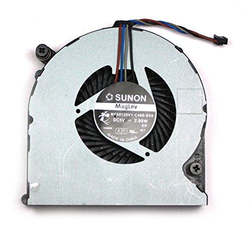 Power4Laptops HP Elitebook 8460p Ventola Compatibile per Portatili