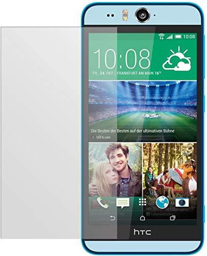 dipos I 2X Schutzfolie matt kompatibel mit HTC Desire Eye Folie Bildschirmschutzfolie