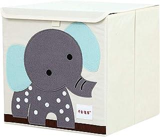 WPCASE Cube De Rangement Tissu Boite De Rangement Tissu Panier Tissu Petit Panier De Rangement Boite Rangement Tissu Bac D...