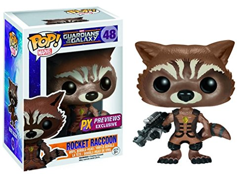 Funko POP! Marvel Guardianes de la galaxia: Rocket Raccoon Exclusivo