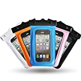 Theoutlettablet® Funda acuática Sumergible de protección para Smartphone 3Go Droxio B51 5'