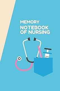 memory notebook of nursing: Cute Nurse Notebook Perfectly Designed Composition Notebook Journal Gift For Nurses, Nursing S...