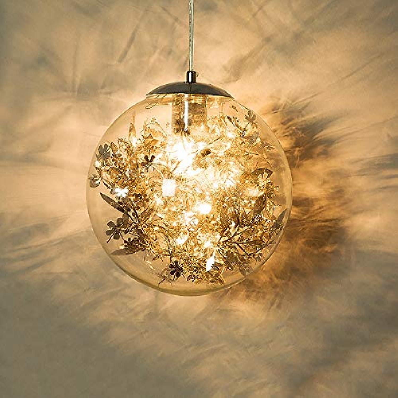 Pinjeer LED Schmiedeeisen Kreative Glaskugel Kronleuchter Moderne Einfache Restaurant Drop Licht Europischen Wohnzimmer Studie Küche Dekoration Deckenpendelleuchten