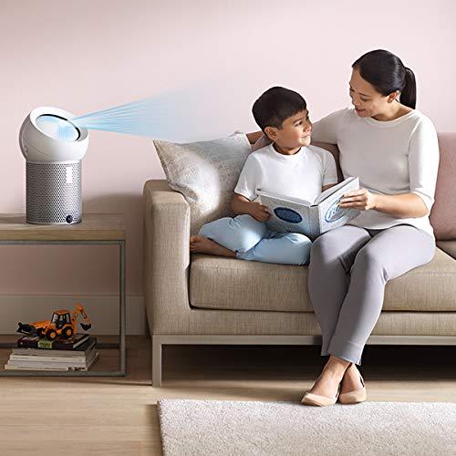 ダイソンパーソナル空気清浄扇風機dysonPureCoolMeBP01WSホワイト/シルバー空気清浄ファンPM0.1を99.95%除去花粉カビウィルスニオイキッチン・寝室・子供部屋にも
